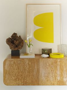 this is how to pair contemporary minimalist + color
