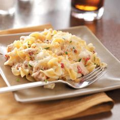 Comforting Tuna Casserole Recipe from Taste of Home -- shared by Dorothy Coleman of Hobe Sound, Florida
