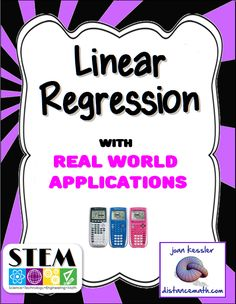 This easy to follow handout helps you teach your students to use the TI 83 - 84 Graphing Calculator to enter data into lists, create a linear regression equation and to plot the equation along with the data. Also included is a three page worksheet with five real world examples. Great for Algebra, College Algebra, Statistics, AP and Regular, and for the new SAT. Support for newer OS of the TI 84.