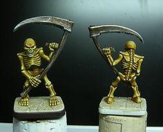 Ain't no skeleton like an old plastic skeleton.