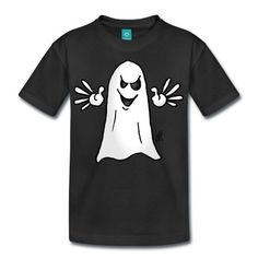 d512fa44f Ghost Teenage Premium T-Shirt - white