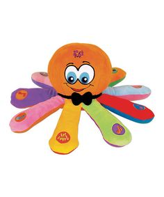 Another great find on #zulily! Ollie The Octopus #zulilyfinds