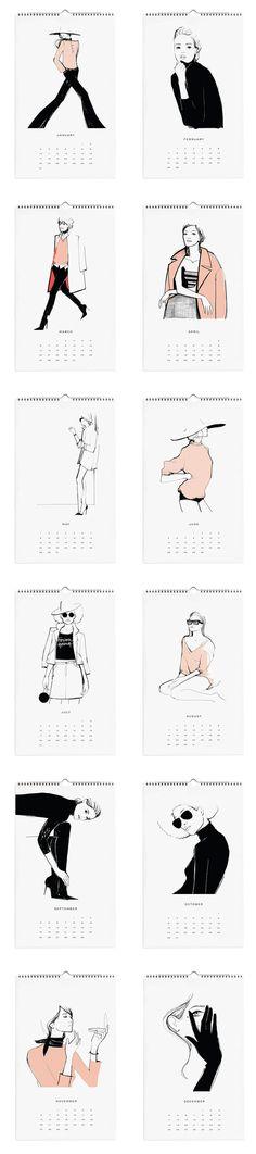 2016 Garance Doré Calendar | Moorea Seal