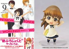 AmiAmi [Character & Hobby Shop] | WORKING!! Vol. 9 Limited Edition w/ Nendoroid Petite Poplar Taneshima (Book)(Released)