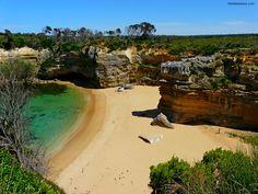 the Great Ocean Road, Australia