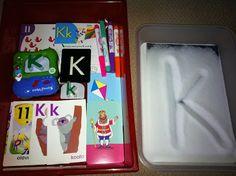 Rockabye Butterfly: Letter K Workboxes