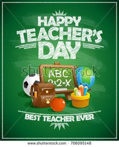 Find Happy Teachers Day Poster Concept stock images in HD and millions of other royalty-free stock photos, illustrations and vectors in the Shutterstock collection. Thousands of new, high-quality pictures added every day.
