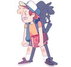 Bill get out of Dipper's body!!!!!