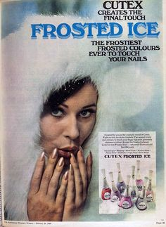 1969 frosted nail polish