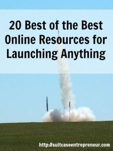 Need to launch something online. This round up showcases 21 of the best of the best tools, podcasts, articles and videos to help you do so.
