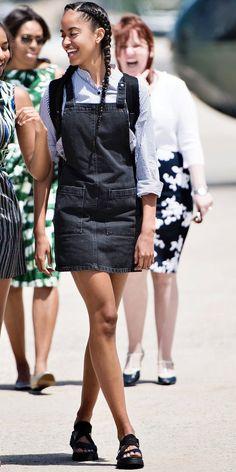 See Malia Obama's best looks ever here.