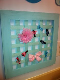 Cost Cutting Creations: DIY Bow Holder  Make your own and save money!  costcuttingcreations.blogspot.com