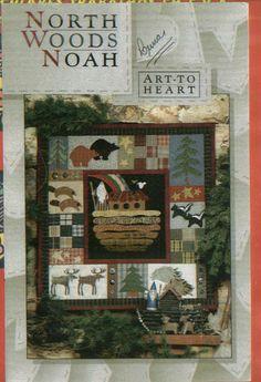 Art to Heart - North Woods Noah - Rosana Araya - Álbuns da web do Picasa Pattern Paper, Pattern Art, Applique Patterns, Quilt Patterns, Book Crafts, Diy And Crafts, Hello Kitty, Folk, Sampler Quilts