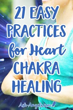 21 Easy Practices for Heart Chakra Healing. Heart chakra healing is vital to your spiritual health. Read my 21 tips on how to unblock and heal your heart chakra with just a few minutes each day. Spiritual Health, Spiritual Guidance, Spiritual Awakening, Spiritual Wisdom, Spiritual Practices, Self Treatment, Reiki Classes, Reiki Training, Spirituality