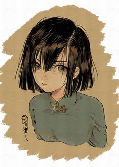 Manga Anime, Anime Art, Character Art, Character Design, Japanese Artwork, Guache, Girls Anime, Kawaii Art, Dope Art