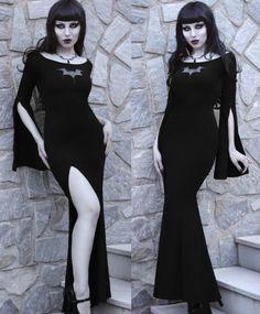 STEELMASTER Steel Master Gothic Spaghetti Strap Party Dresses Steampunk Evening Dress