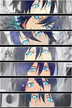 Yato his eyes are beautiful Yatogami Noragami, Anime Noragami, Yato And Hiyori, All Anime, Me Me Me Anime, Anime Guys, Manga Anime, Anime Art, Anime Neko