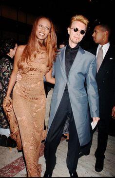 Iman David Bowie News Photo 110449358