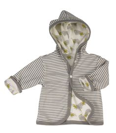 Badger/ grey stripe reversible baby jacket organic cotton by Pigeon. Made in England. Baby Clothes Uk, Organic Baby Clothes, Unisex Baby Clothes, Body Top, Stylish Baby, Mother And Baby, Badger, Cool Baby Stuff, Hoody
