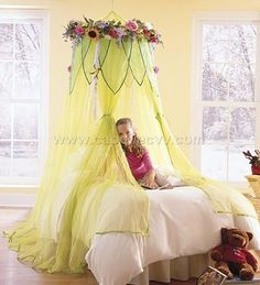 beautiful bed rooms with canopy over bed | Princess Bed Canopy - China
