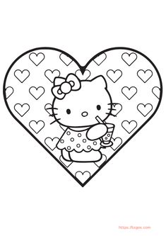 Best Hello Kitty Coloring Page For Girls Hello Kitty Colouring Pages, Coloring Pages For Girls, Coloring For Kids, Adult Coloring, Christmas Unicorn, Unicorn Halloween, Halloween Books, Coloring Apps, Instagram Logo