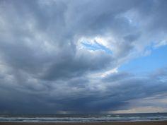 Clouds over sea, Scheveningen