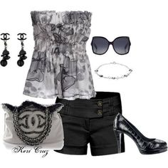 Cute Spring/Summer Outfit #UnlockMyCloset