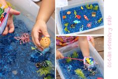 Playing House: Invitations to Play - Water Fun...lots of fun ideas