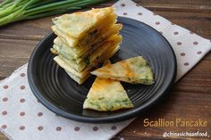 Chinese scallion pancakes | ChinaSichuanFood. Scallion pancake is one of those things I always order in Chinese restaurants. Love it! Detailed instruction with photos.