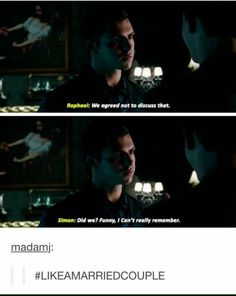 Raphael Santiago~Simon Lewis #Vampires TMI~The Mortal Instruments Shadowhunters