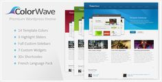 Download Colorwave – ThemeForest Premium WordPress Theme    http://themes.indexaz.com/