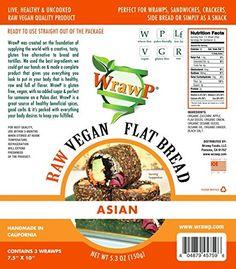 Raw Vegan Flat Bread, Asian, Paleo, 5.3 Oz, 3 Wraps Wrawp http://www.amazon.com/dp/B00V4GNKL0/ref=cm_sw_r_pi_dp_226jwb1F5SM9P