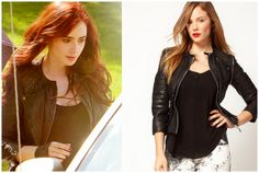 Shop Your Tv: Mortal Instuments: Clary Fray (Lily Collins) Black Leather Jacket
