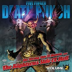 Five Finger Death Punch - The Wrong Side Of Heaven And The Righteous Side Of Hell Vol. 2 on 2LP