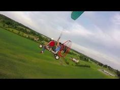 Mini Quad and Paraglider ,3rd person - YouTube