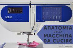 L'Anatomia della macchina da cucire: Impara a cucire a macchina, Lezione 1. Le funzioni di base della macchina da cucire e dove trovarle.