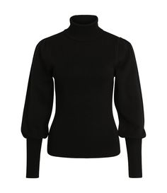 Black sweater with victorian sleeves   One More Story