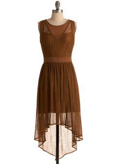 Do You See What I Sepia? Dress  $134.99 ModCloth