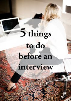 Five Things to do Before an Interview |Corporate Catwalk by Olivia | Fashion Blogger in the Corporate World