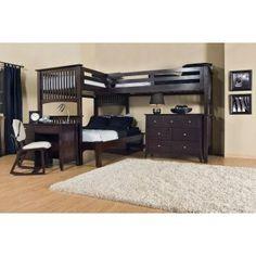 Mission Triple Lindy Loft-Full 3rd Bed