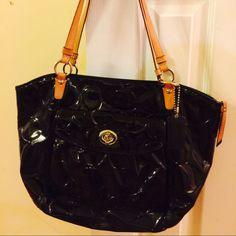 A Used Coach Bag