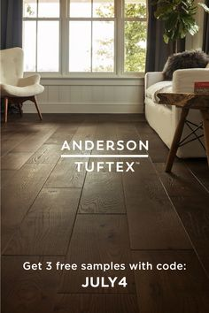 Hardwoods built with history, stability, legacy, craftsmanship and timeless beauty. Best Flooring, Engineered Hardwood Flooring, Flooring Ideas, Hardwood Floors, We Anderson, Flooring Companies, Free Samples, July 4th, Bed Room