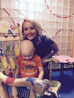 "jenniferlawrenceupdated: "" Jennifer Lawrence visits Kosair Children's Hospital in Louisville on December 23, 2015. """