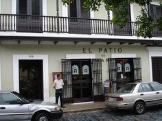 OMG... The first restaurant I worked at! ☀El Patio de Sam, San Juan, Puerto Rico☀