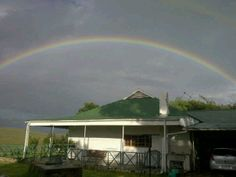 Goedgedacht Farmhouse. At the end of the rainbow........a great life that never ends!