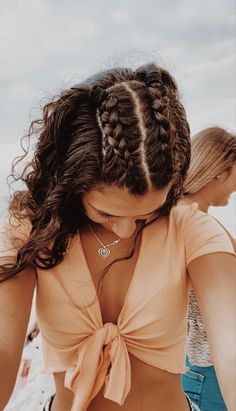 Easy Hairstyles For Long Hair, Teen Hairstyles, Volleyball Hairstyles, Athletic Hairstyles, Quick Braided Hairstyles, Heatless Hairstyles, School Hairstyles, Everyday Hairstyles, Hairdos