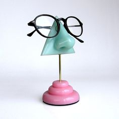 Eyeglass Holder Mother's day Eyewear Display Mint by ArtAkimbo, $35.00