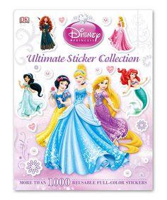 This Disney Princess Sticker Book by Disney Princess is perfect! #zulilyfinds