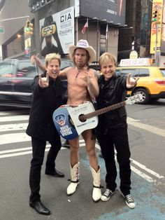 Twitpic - Matthew and Gunnar in NYC