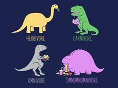 Omnomnomnivore T-Shirt from Threadless [source: slice.seriouseats.com]